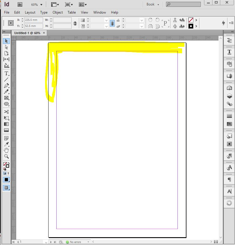 margin-in-indesign