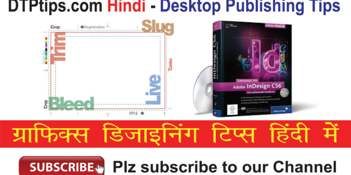 Presets and Bleed Settings –  Indesign हिंदी में