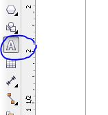 CorelDraw Type tool