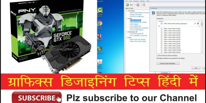 How to Fix: Nvidia Graphics Card 1440×900 or any other screen resolution not available