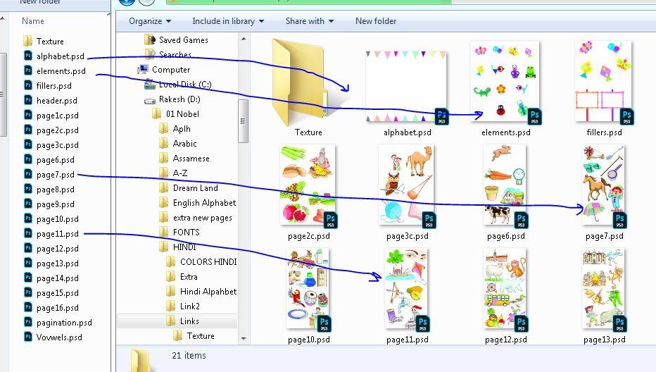 PSD thumbnail in Windows Explorer