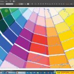Colour Swatch Palettes for Indesign – 5 Set of Cool Colour Swatch Palettes