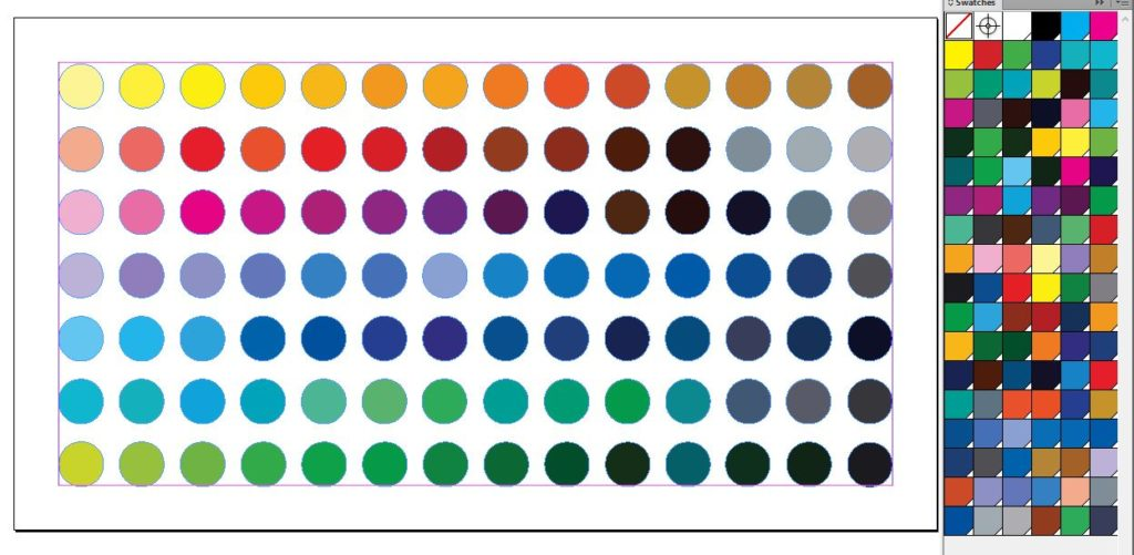 Swatch Palettes for Indesign - Vibrant Colour Palette