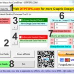 School ID Card Maker Macro for CorelDraw