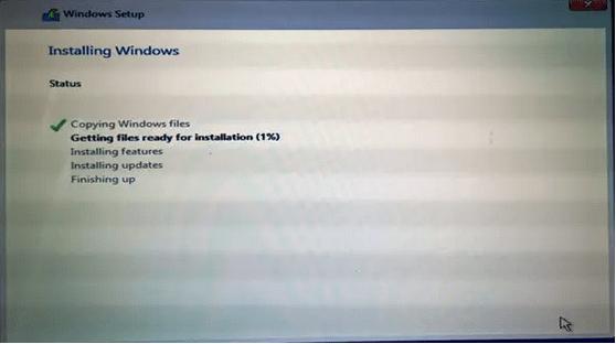 Windows 10 -Copying Windows Files