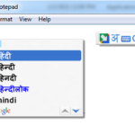 How to install Google Input Tools For Hindi Language – Phonetic Typing
