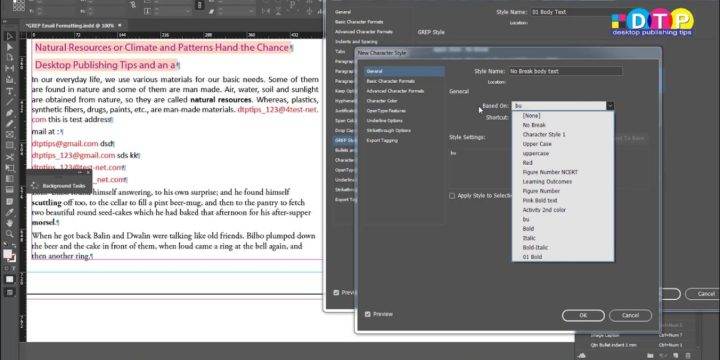 GREP in Indesign: How to auto create Title Case for Chapter Heading Levels or Titles